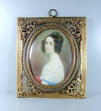 Miniatur Malerei - Alexandra Prinzessin von Bayern - Schönheiten Galerie