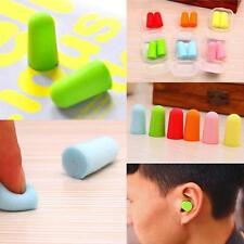 5Pairs Colour Memory Foam Soft Ear Plugs Sleep Earplugs Noise Reducer Hot