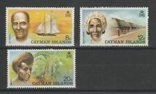 Lightly Hinged Decimal Caymanian Stamps