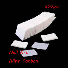 Acrylic Polish Manicure Remover Cotton Lint Pads Nail Art Cleaner Wipes