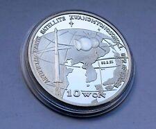KOREA 10 von 1998 Silver Space Rocket RARITY !!!