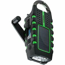Eton NSP101WXGR Scorpion LL Rugged Portable Multi-purpose Digital Radio With Cra