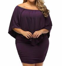 Plus Size Sexy Cocktail Dress Multi style 3 in 1 Size:(US 18-20) XXL