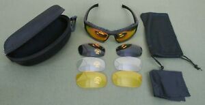 Sports Glasses for Shooting and Outdoors, Lightweight Polycarbonate.