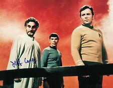 OFFICIAL WEBSITE Jeff Corey STAR TREK 8x10 Glossy Photo AUTOGRAPHED Signed