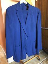 New listing 1940's Men's Schwobilt Tropical Wool Dark Blue Suit Size 42