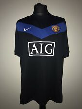 Manchester United 2009-10 Away Vintage Football Shirt - Excellent Condition