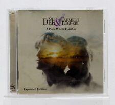 KIKI DEE carmeo luggeri - A Place Where I Can Go - MUSIQUE ALBUM CD bon état