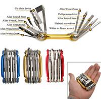 11 In 1 MTB Fahrrad Multitool Spanner Werkzeugset Reperaturset Notfall