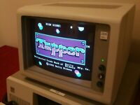IBM 5153 CGA Color Display Monitor CRT 5150 5160 5170 PC XT AT Tandy - Grade B-