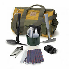 New listing Asr Outdoor Beginners Geology Rock Hounding Gem Hunting Kit with Tools 9 Pieces