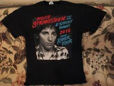 Bruce Springsteen The River T Shirt 2016 Metlife Stadium East Rutherford Lg Nwot