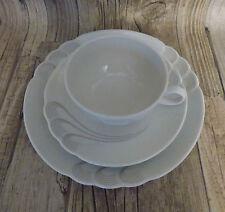 seltmann weiden helena braun Gedeck 3-tlg Teetasse Kuchenteller