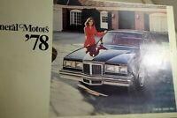 General Motors 1978 Pontiac Grand Prix clippings Advertisement  Ad Brochure book