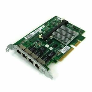 Genuine HP NC375I Quad Port Gigabit NIC Adapter card 468001-001 491838-001