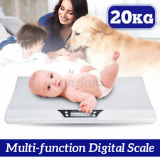 20KG Digital Baby Scale Weight Infant/Baby Pet Weight Scales Measure LCD  NEW