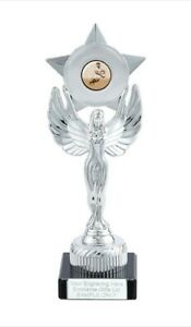 Rugby Player Unity Victory Award 230mm Trophy (K) ENGRAVED FREE