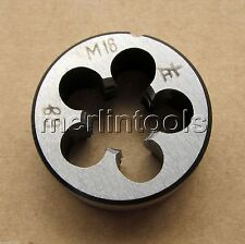 16mm x 2 Metric Left hand Die M16 x 2.0mm Pitch