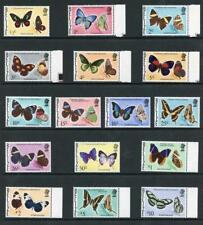 Belize SG380/95 1974 Set of 16 Butterflies U/M