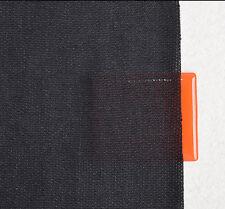 1.6*0.5M Black Stereo Grille Fabric Speaker Mesh Cloth Audio Speaker Grill Cloth