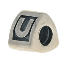 NEW Authentic Pandora Alpha U Charm - Sterling Alphabet Letter 790323U Retired
