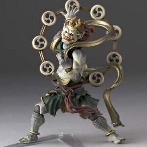KAIYODO Revoltech Takeya 010 Action Figure Non-Scale Painted Raijin Statue