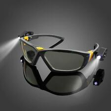 Night Vision LED Protection Glasses Work Safety Car Repair Light Reading Goggles