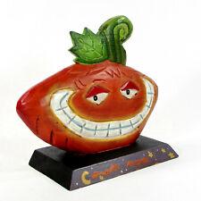 "Midwest of Cannon Falls Smiling Pumpkin 8"" Figurine Halloween Jack-O-Lantern"