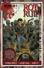 Rot & Ruin 1 Robert Sacchet subscription Cover Jonathon Maberry IDW 1st Print NM