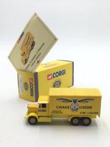 Scammell 6 Wheeler 1/72 Corgi Trucks Yesteryear n12/50 Box COA Near Of New