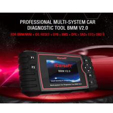 iCarsoft BMM V2.0 BMW MINI OBD2 Diagnostic scan Tool Reset default Code Reader