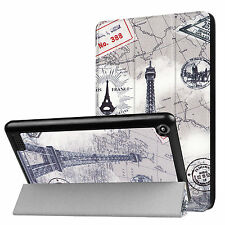 Hülle für New Amazon Kindle Fire HD7 7 Zoll 2017 Sleeve Cover Slim Case Motiv