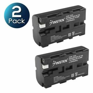 2X Battery for Sony Mavica NP-F550 NP-F330 NP-F730 F750