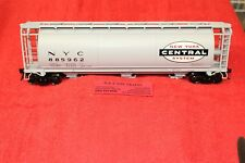 3002219 New York Central 3 Bay Cylindrical Hopper Car 2 Rail NEW IN BOX