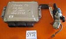 Motorsteuergerät mit Zündschloss Citroen C4 1.6 HDI Baujahr 2/2008 eBay 5498