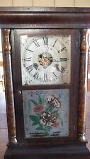 Fantastic Seth Thomas Ogee Box Clock, 30 hour, Mahagony Case
