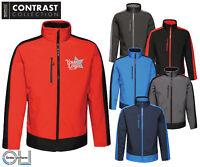 Embroidered Regatta Contrast Softshell Jacket workwear logo uniform personalised