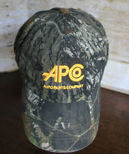 APCo Auto Parts Ball Cap Mossy Oak Camo Ford Motorcraft Adjustable Hat