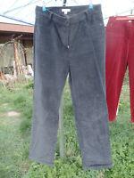 SHE Damen Hose MARGA Gr.40, 98% Baumwolle, 2% Elasthan, schwarz BW/ SL 80/ 75 cm