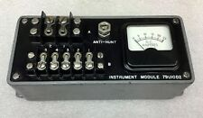 P & H MODEL 79U10D2 INSTRUMENT MODULE METER 0-25 DC AMPERES NEW NO BOX