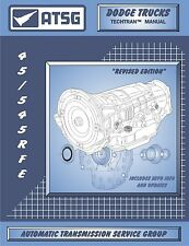 ATSG Dodge Jeep 45RFE 5-45RFE Transmission Rebuild Instruction Service Manual