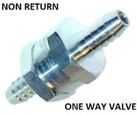 8mm Fuel Alloy one way valve petrol diesel non return for carb carburator