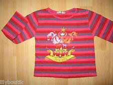TAPE A L'OEIL - T-shirt imprimé rayé rose, rouge, violet ♥ Taille 4 ans
