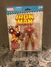 """L@@K— Marvel Legends Iron Man Super Heroes Vintage 6"""" Action Figure Wave 1 - NEW"""