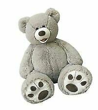 HugFun 25 Inch Plush Teddy Bear Grey Color