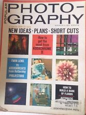 Popular Photography Magazine Twin lens & Ideas March 1965 082617nonrh
