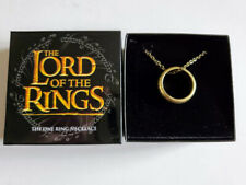 Loot Crate Exclusive Lord Of The Rings Lotr The One Ring Necklace Long Chain New