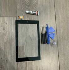 GO FOR AMAZON KINDLE FIRE 7TH GEN SR043KL TOUCH SCREEN DIGITIZER REPLACE + GLUE