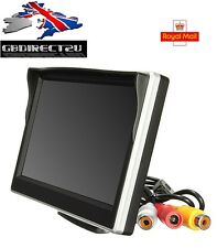 NEW 2017 UK 5 Inch Digital Colour TFT LCD Screen Car Reversing  CCTV Monitor