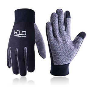 Running Gloves Mens Touchscreen Cycling Gloves Cotton Winter Gloves Sports Warm